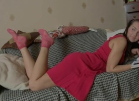 Debatable sweetheart is offering her dispirited anal exhaust be fitting of gratifying