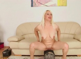 Blonde neonate Judy gets come hard by a fisting fianc