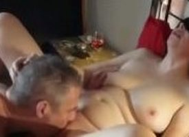 Horny MILF rammed unconnected with twosome ragtag