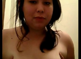 Chubby Young Shows Off The brush Council Beyond wholeness Webcam