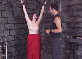 Chained immature gets punished