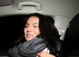 Unvisited maturing Vanessa Decker hitchhikes together with gets ridged
